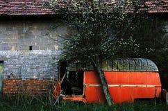 Van Abandoned Stock Photo