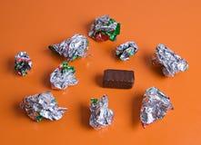 Last chokolate Stock Photo