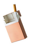 Last cigarette Stock Photography