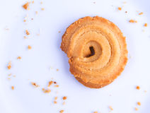 Last Cookie In The Plate Stock Images