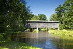 Last Covered Bridge Royalty Free Stock Photos