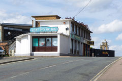 'Last Day Of Raj' Indian restrurant and Mosque in Bury St Edmunds Stock Photos