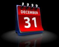 Last day of year Stock Image