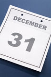 Last day of the year Royalty Free Stock Photography