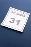 Last day of the year Royalty Free Stock Images