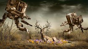 The Last Deer royalty free illustration