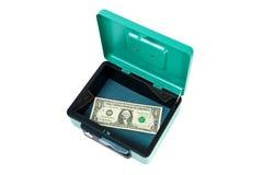 Last dollar Royalty Free Stock Image