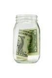 Last Dollar Royalty Free Stock Photos