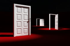 Last door. Stock Images
