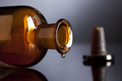 Last drop of medicine Stock Photography