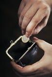 The Last Euro Royalty Free Stock Photos