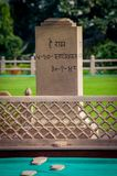 Last gandhi resting place new delhi india. Very much one of the main tourist attractions and points of interest in the area Royalty Free Stock Photo