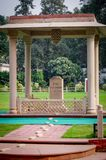 Last gandhi resting place new delhi india. Very much one of the main tourist attractions and points of interest in the area Stock Image