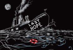 Last Hope Ship Royalty Free Stock Photography