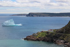 Last icebergs from Newfoundland Stock Photos