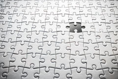 Last Jigsaw Lost Royalty Free Stock Photography