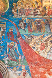 Last Judgement at Humor Monastery Royalty Free Stock Photo