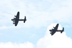 The last Lancasters Stock Photo