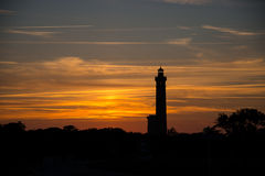 Last Light Lighthouse Royalty Free Stock Images