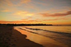 Last light on the Port Royalty Free Stock Image