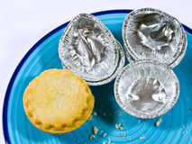 Last mince pie Stock Photo