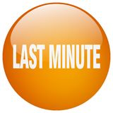 Last minute button. Last minute round button isolated on white background. last minute stock illustration