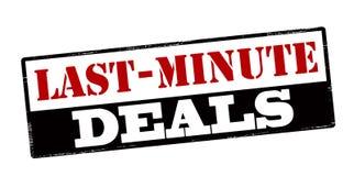 Last minute deals Stock Images