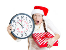 Last minute holiday shopping Royalty Free Stock Photography