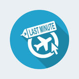 Last minute link icon. Flat and isolated vector eps illustration icon with minimal and modern design vector illustration