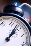 Last minutes. Retro alarm clock close up Royalty Free Stock Image