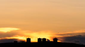 Last minutes of sunset Stock Photo