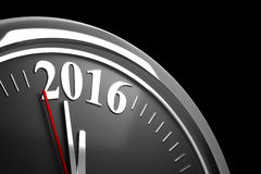 Last Minutes to 2016. (Computer generated image vector illustration