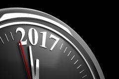 Last Minutes to 2017 Stock Image