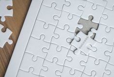 Last piece of jigsaw is almost in place for success con Stock Image