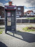 Last public phone booth Royalty Free Stock Photos