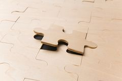 Free Last Puzzle Piece Stock Photo - 1557590