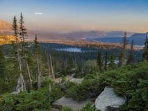Last Light on the Uintas royalty free stock images