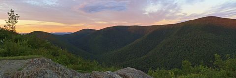 Mt. Greylock Sunset from Stony Ridge Stock Photos
