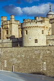 Last Rays of sun over Historic Tower of London, England Stock Photography