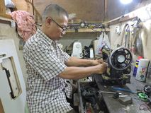 The Last Repairman stock photos