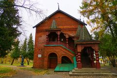 The house of tsarevich Dmitry, the son of Russian tsar Ivan the Terrible, in Unglich, Russia. royalty free stock image