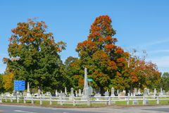 Last Rest Cemetery in Merrimack, NH, USA