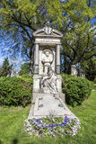 Last Resting Place of architect Carl Hasenauer at the Vienna Cen Royalty Free Stock Images
