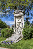 Last Resting Place of architect Carl Hasenauer at the Vienna Cen Royalty Free Stock Photography