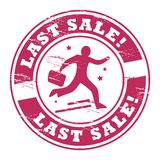 Last Sale Stock Images