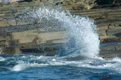 ' last splash ' fotografia stock