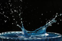' last splash ' Zdjęcie Royalty Free