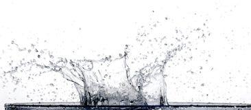 ' last splash ' Zdjęcia Stock
