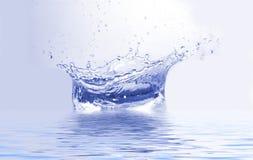 ' last splash ' Fotografia Royalty Free