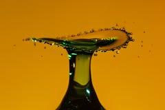 ' last splash ' Zdjęcie Stock